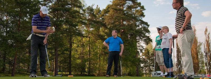 Aloita golf kahdessa päivässä