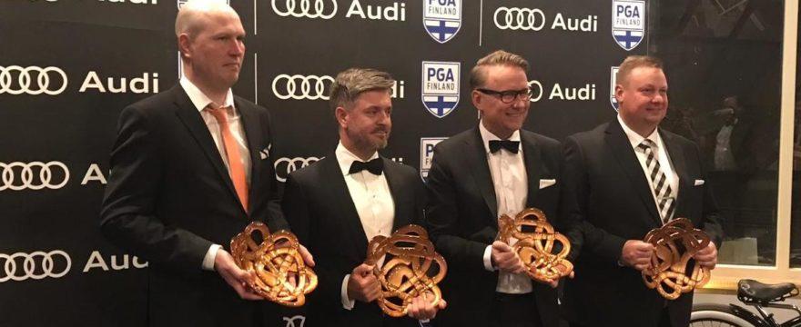 Tommi Hentulle merkittävä tunnustus PGA Awards 2019 -tapahtumassa